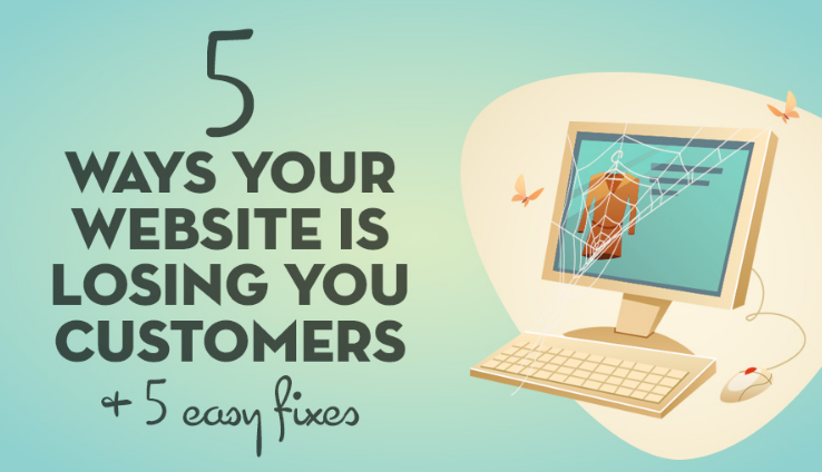 5 Easy Fixes to Help Your Website Not Lose Customers