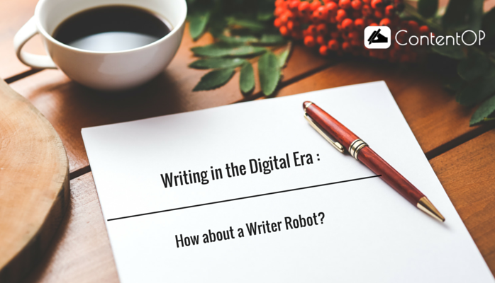 Writing in the Digital Era : How about a Writer Robot?