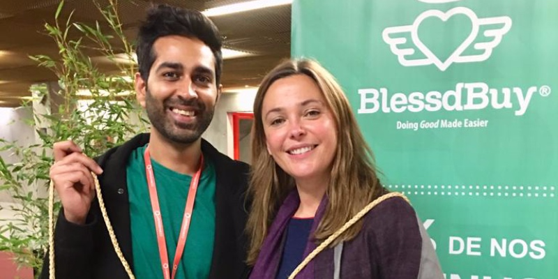A walk down Amsterdam's shopping district led to this ecommerce & social impact startup