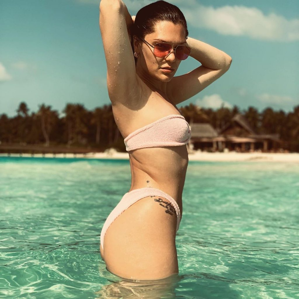 SKINNY DIPPING 'Naked' bikinis are the latest outrageous swimwear trend to sweep Instagram