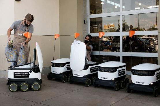 10 Autonomous Robots for Last-mile Deliveries