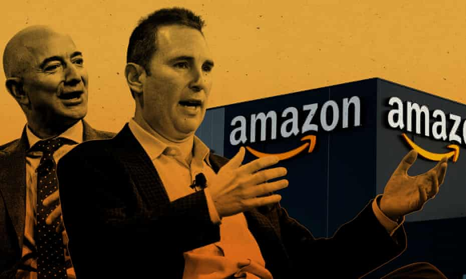TECH Amazon's new boss faces pressure from all sides as Bezos leaves for space
