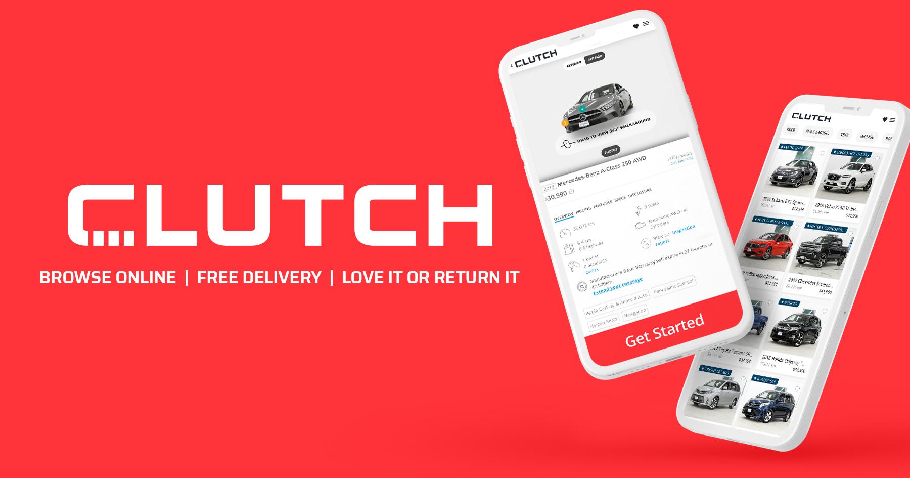 online car retailer - Clutch
